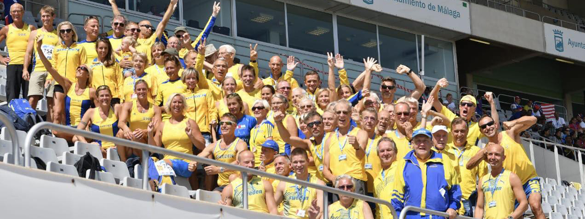 Swedish Athletics Masters Team